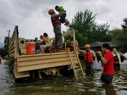From the Inside Looking Out – Impacts and Aftermath of Harvey fromHouston